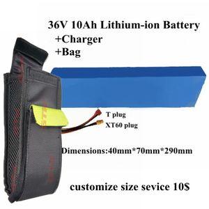 elektrikli bisiklet için 15A BMS bateria bicicleta ile GTK bisiklet pil 36v 10Ah lityum iyon paketi