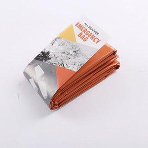 Außenleuchte und leicht zu tragen emergency Wärmedämmung PE Orange Schlafsack verdickte Orange Schlafsack KRL3d