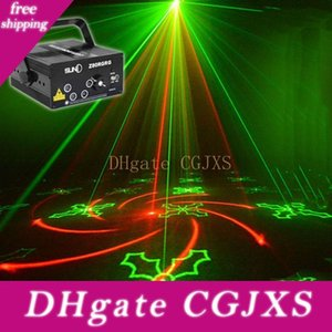 80 Padrões Projector Laser DJ Stage Luz Rg Red Blue Green Led Efeito Magic bola do disco com o controlador em Movimento Partido Head Lamp 110v -240v