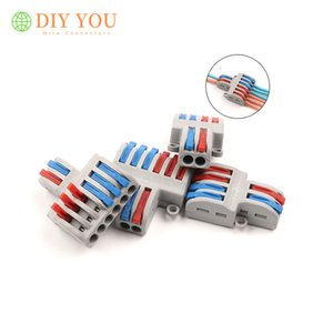 Connectors 5 10 PCS SPL 62 42 Quick Splitter plug-in electric Multiple wire connector Universal Compact wiring connectors terminal block