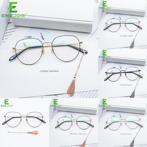 Chl püskül Pendant Eardrop yuvarlak çerçeve gözlük çerçevesi gözlük moda çıkarılabilir eardrop optik raf