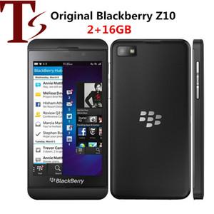 Original Blackberry Z10 Mobile Phone NFC WIFI 3G 4G Desbloqueado 4.2 '' toque Telefone 2 + 16GB Dual Core