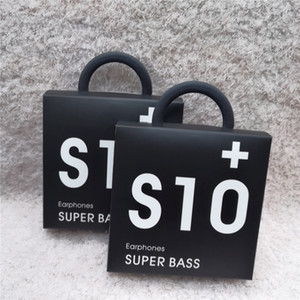Высокое качество OEM Earbuds S10 наушники Bass Наушники стерео звук наушники с Volume Control для S8 S9 в коробке