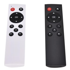 Universal 2.4G sem fio Air Mouse Keyboard Remote Control Para PC Android TV Box Black / White