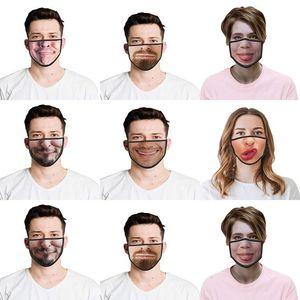 Máscaras para Womens Laagste mascarillas 3d Disfraces de Halloween Prijs asombroso del descuento Cosplay nominal impreso divertidos UK Half Wtsvk