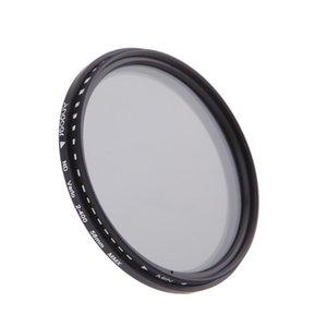 cgjxs58mm ND 필터 중립 밀도 ND2 ND4 ND8 Nd400 렌즈 변수의 Nd 페이더를 들어 캐논 니콘 DSLR 카메라 필터