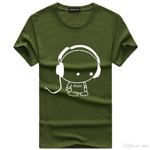 Men's t-shirt for men Short Sleeve T Shrits Men Tees black green red gray XXXL 4XL 5XL VX700818