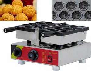 Commercial 110V / 220V noz fabricante de forma waffle / Eléctrico Walnut bolo Waffle / Walnut bolo que faz a máquina