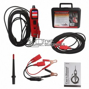 أداة تشخيص AUTEL PowerScan PS100 أنظمة كهربائية AUTEL PS100 الطاقة مسح السيارات السيارات حلبة اختبار K10m #