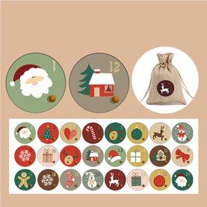 christmas decorations 2020 factory stock Christmas gifts Holiday stickers stickers Party gifts Snowman Snowflake Love stickers