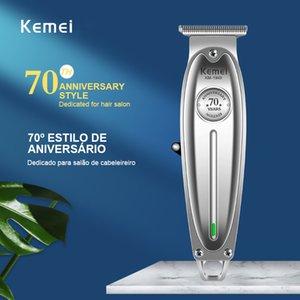 Kemei 1949 Novos tudo Hair Clipper metal Professional Men USB Elétrica Cordless Navalha Clippers Kemei 1949