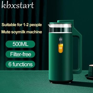 500ml électrique Soymilk machine de chauffage du soja Lait automatique Juicer Stir Coller Maker filtre sans machine 220V Soymilk