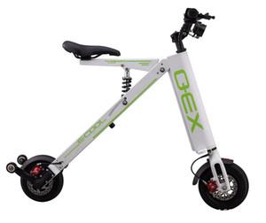 Küçük Mini Katlanır Elektrikli Scooter Ultra Işık Taşınabilir Lityum Pil Pil Scooter Yetişkin Mobilite Bisiklet FTN