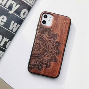 تصميم النقش قضية الهاتف الخشب تبو للهاتف مثل اي فون سامسونج هواوي
