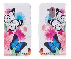 Cgjxsfor Huawei Honor 6c Fall-Schlag-Abdeckungs-Mappen-Luxus-Karte Patterned Mode Giraffe-Abdeckung für Huawei Honor 6c Flip Case