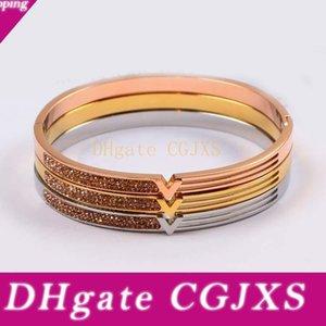 Австрийский кристалл браслеты для женщин розовое золото серебро Overlay моды Европейский нержавеющей стали Браслеты New Lucky Star ювелирные изделия