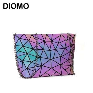 Chaîne de Diomo Sac Messenger Femmes Sac 2020 Mode lumineux géométrique Sling Sac Sac bandoulière Femme Femme Bolsas Feminina
