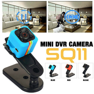 HD SQ11 Мини камера Малого видео DVR ночного видение видеокамера Спорт носимого Professional Secret Micro Cam Карманное тело Крошечных камер