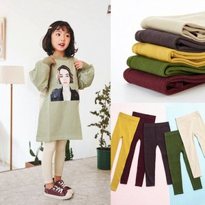 2020 2020 Factory Wholesale Baby Girl Stretch Leggings Pants Spring And Autumn Toddler Child Knitting Trousers Factory Wholesale ctHi#
