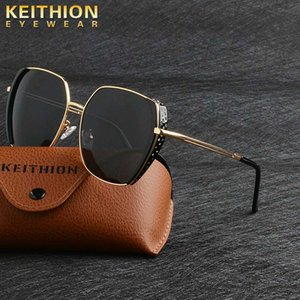 Sunglasses KEITHION Brand Design Men Vintage Women Square Sun Glasses Luxury Gradient Sunglass UV400 Shades Gafas De Sol Hombre