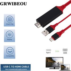 Audio Cavi Connettori GrwiBiBoou Tipo C a Cable Support USB Ricarica Typec 4K * Adattatore 2K 3.1 con