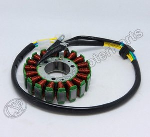 Großhandel 18 Spulen Magneto Stator Linhai 257CC 300CC 260cc 300cc ATV UTV Scooter 93mm AXf3 #