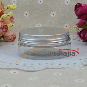(50)는 매트 알루미늄 캔 금속 상자 알루미늄 병 50g 알루미늄 컨테이너 화장품 포장을 50g의 투명한 PET 항아리, 그램