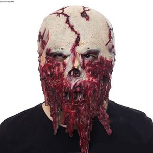 Accoutrements New Latex Zombie Mask mask Skull for party Halloween scary terror masks horror mascaras latex realista