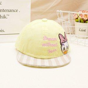 primavera y otoño niña de sombrero de 0-1 años de edad del bebé cap cap 2 Princesa linda chica de moda de béisbol Béisbol bebé sombrilla delgada