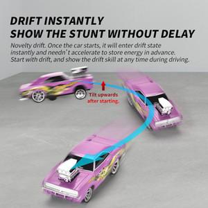 Retro cool drift racing car Remote control stunt drift racing car Kid fun toys 360 degree rotation 02