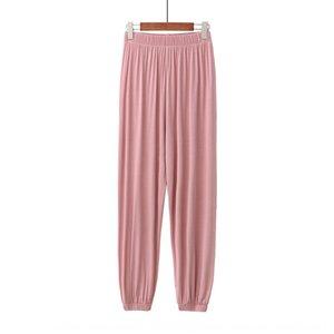 Summer thin pyjamas modal Lantern anti-mosquito anti-mosquito leg-binding leisure sports home pants lantern pants