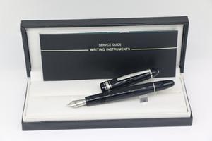 En iyi kalem ucu kırtasiye okul ofis malzemeleri ile yüksek kalitede 149 Dolma kalem Mat Siyah Klasik Gümüş süs