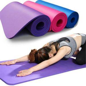60cmx25cmx1.5cm EVA Yoga Mat slittamento non Carpet palestra pilates esercitazione di sport pastiglie per principianti fitness ambientale Ginnastica Mats