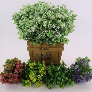 Yapay Milan Meyve Plastik Milan Çim Bitki Düğün Yılbaşı Ev Dekorasyon Aksesuarları Sahte Çiçek YSY322 Bitkiler