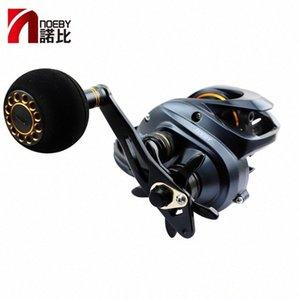 Rácio NOEBY Pesca Carretilha Nonsuch DC1200 alta velocidade Baitcasting Reel engrenagem 6.3: 1 11bb Bait Fundição Roda Max Power 12 kg Pesca JNI1 #