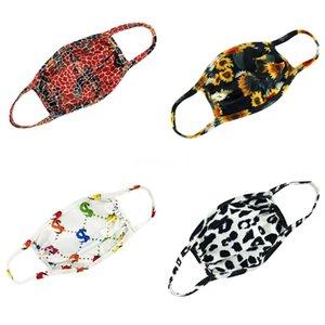 Fa Masken Lack Radfahren Anti Staub-Frau-Mann-Unisex Fasion Masken Printed Wasale Fa Mask # 543
