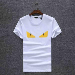 Yeni 2020 Tasarımcı Paris Hayranları T Shirt Erkek Giyim Kadın Yaz Lüks Rahat T Shirt Pamuk Mektup Moda Kısa Kollu Medusa T Shirt