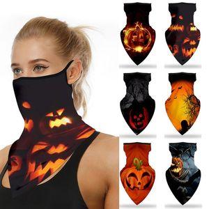 6 cores máscaras de Halloween Halloween Variety Magia Turban Triângulo bicicleta Máscara Toalha equitação máscara máscaras partido DHF754