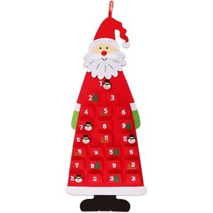 DIY Felt Christmas Tree Family Wall Hanging Decoration Christmas Children Gift Decoration Artificial Tree Toy