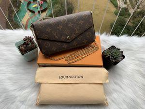 mulheres da forma Impressão Flores designer saco de ombro de três peças de couro pacote senhora Crossbody Bolsa Messenger sacos mulher Bolsas M61276