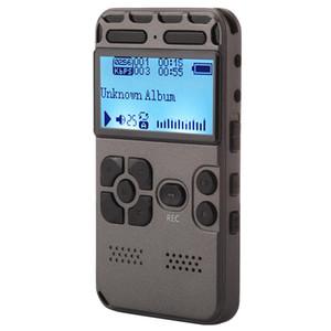 Recorder VM181 Portable Audio Voz, 8GB, reprodução de música Suporte / TF / LINE-IN Telefone Recording