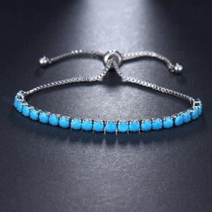 EMMAYA Fashion New Cz Bracelet perles de cristal multicolore Bracelets Zircon réglables pour les filles Bijoux pas cher