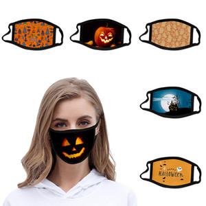 Halloween Mask lavável algodão dos desenhos animados máscara máscaras festivo do partido Respirador Muffle cara Anti Poeira Boca Proteção Respira Purge