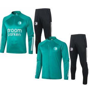 Survetements Men Tenues Voetbal NetherlandsES Training New FeyenoordES trainingspak jersey jacket track suit tracksuit 2020 0921