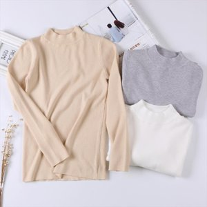 Women Basic Sweater 2019 Spring Autumn Thin Knitwear O Neck Chic Pullover Sweaters Soft Ladies Jumper Pull Femme