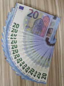 2020 горячий продавать Подделка 20 евро банкнот проп деньги игрушка подделкой евро пистолет деньги бар партия этап атмосфера рождения