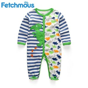 Les nouveau-nés de nuit garçons Bébés filles Blanket Traverses nourrisson bébé manches longues pyjamas vêtements LJ200827