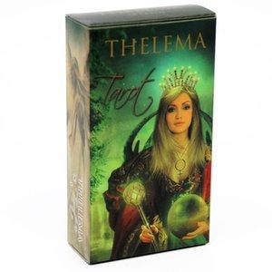 78 N58b Tarocchi Oracle Cards 78 tessera di partito inglese carte da gioco Famiglia Deck Board Game Thelema yxlsTE lucky2005