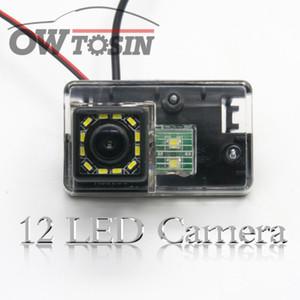 12 LED light Car Reverse Rear View Camera For 206 207 306 307 308 406 407 5008 Partner Car Parking Waterproof Backup