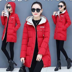 Orwindny Donne addensare parka con cappuccio 2020 Nuovo Inverno cappotto donne più il formato S-3XL wadded lungo Parka Gilrs Jaqueta feminina